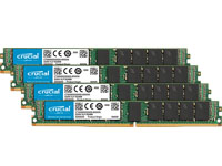 32GB Kit (8GBx4) DDR4-2133 VLP RDIMM Single Ranked